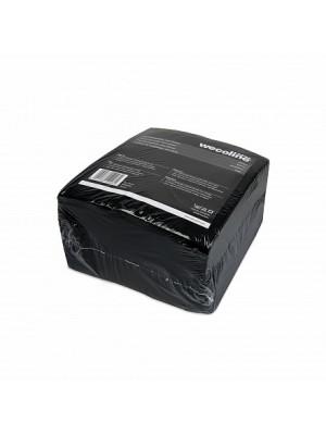 Vliesdoek zwart 38 x 40cm 25 stuks per verpakking
