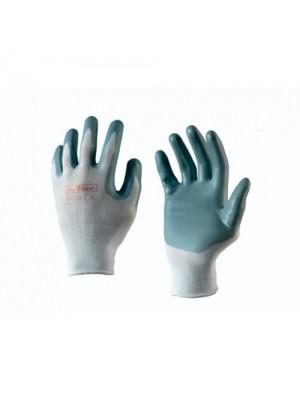 Handschoen met nitrile foam coating