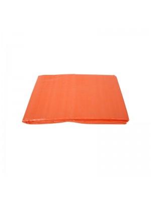 Dekzeil 4 x 6 meter oranje