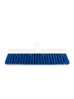 Rilsan bezem 40 cm hard blauw