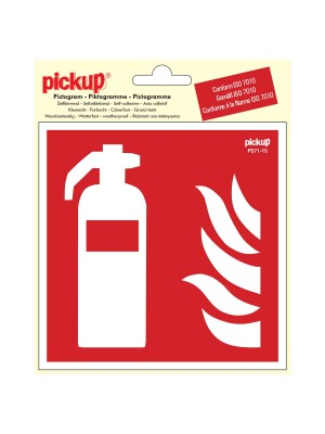Veiligheidspictogram - Brandblusser - vinyl
