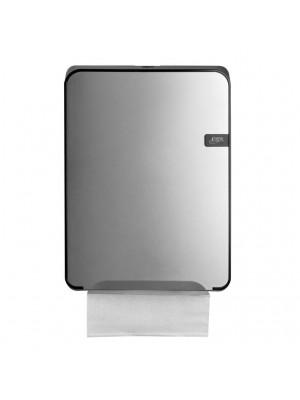 Prima Silver Quartz Multifold Handdoekdispenser