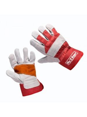 Handschoen Rundsplitleder Glovwork 200 maat 10