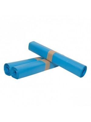 Vuilniszak 90 x 110 cm T30 blauw