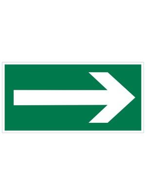 Veiligheidspictogram - Vluchtweg Richtingspijl - bord