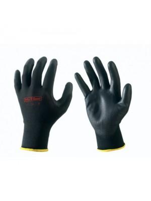 Handschoen nylon met PU-coating zwart