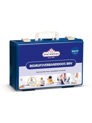 Utermöhlen Bedrijfsverbanddoos BHV HACCP met wandhouder