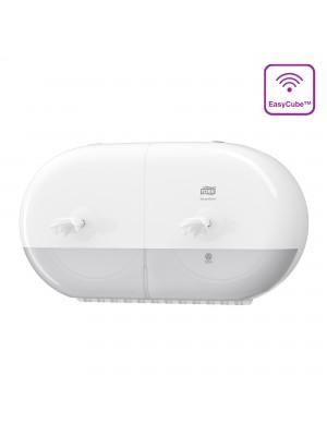 Tork SmartOne® Twin Mini toiletrol dispenser wit 682000