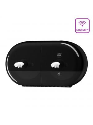 Tork SmartOne® Twin Mini toiletrol dispenser zwart 682008