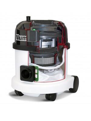 Numatic HEPA stofzuiger PPH 320-12 wit met kit AS1
