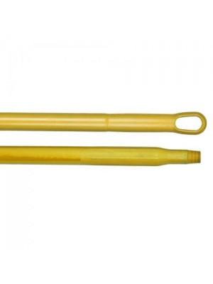 Kunststof steel 150 cm geel