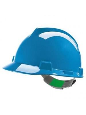 MSA V-Gard veiligheidshelm Blauw