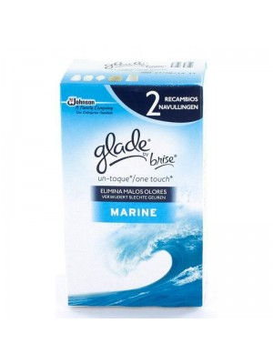 Glade by Brise One Touch navulling duo 2x10 ml